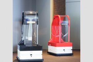 Robots botones te ayudarán con tu equipaje hasta tu habitación