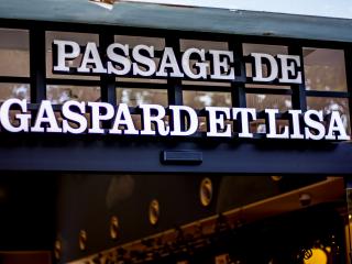 """Passage de Gaspard et Lisa"" nghe có vẻ giống như khu mua sắm Covered Passage of Paris quyến rũ"