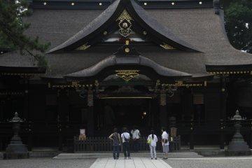 <p>The main building.</p>