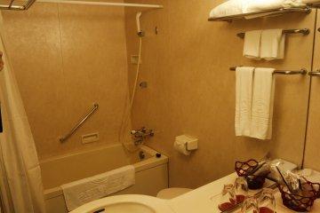 <p>The bathroom.</p>