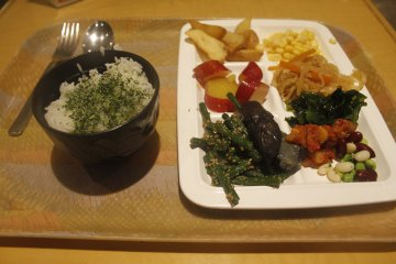 <p>The food I opted for.</p>