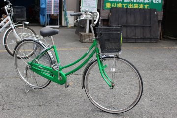 <p>The regular rent-a-cycle bike</p>