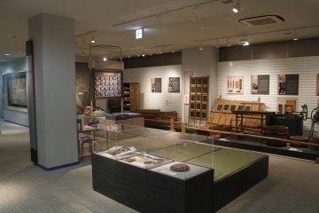 <p>Inside the Omori Nori Museum.&nbsp;</p>