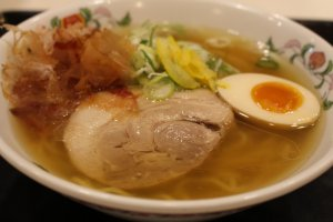 The Nippon Ramen with fresh Japan-grown ingredients including yuzu