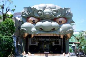 Susano'o slaying Yamata no Orochi, the eight headed serpent