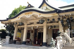 The main shrine in classical style.