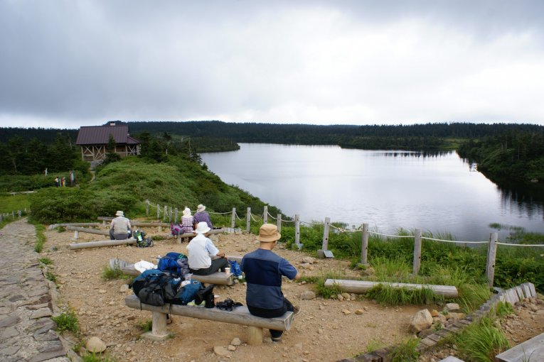 Hiking Hachimantai's Nature Trail