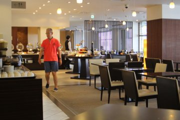 <p>The restaurant at morning, I came late, it&#39;s already 9.30 am.</p>