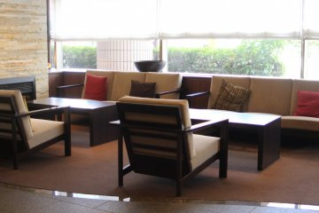 <p>Waiting room in lobby</p>