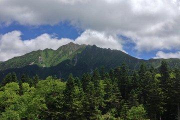 Горы Синхотака с верхней станции канатной дороги