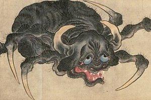 แมงมุมในเทพนิยายญี่ปุ่น