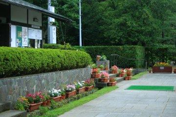 <p>Hirosaki Castle Arboretum Area</p>