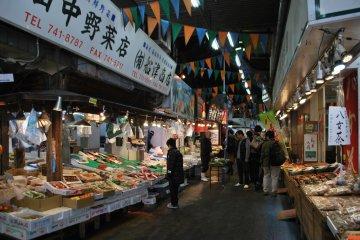 <p>View of the market&#39;s interior</p>