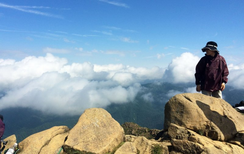 <p>The view from the top of Mount Shibutsu in Oze National Park in Gunma Prefecture.</p>