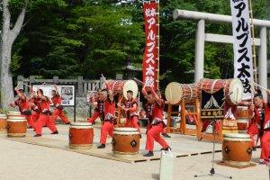 Taiko in Matsumoto City