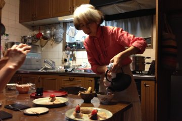 At Emi's cooking class, her home truths have made this art form accessible to beginners.