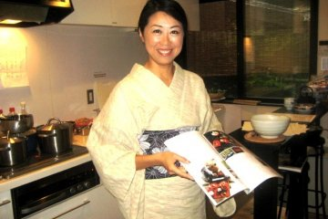 Kaori demystifies Japanese cuisine by deconstructing it to its basic elements, but her memories of cooking with her mother are never far away.