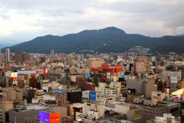 <p>We can see&nbsp;Sapporo Norbesa Noria Ferris Wheel from Sapporo TV Tower</p>