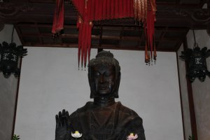 A closer look at  the Buddha