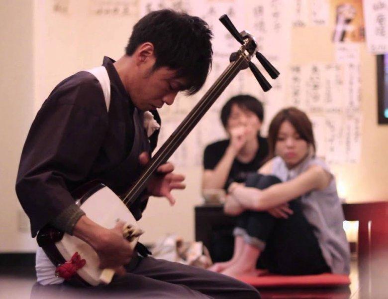 Đàn truyền thống Tsugaru Jamisen