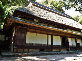 The home-turned-museum is owned by a descendant of Naiki Horikawa, young Emperor Antoku's personal physician.