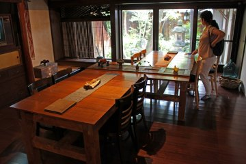 <p>My group&#39;s dining area</p>