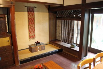 <p>The tokonoma in our dining area</p>