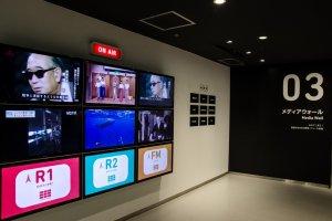 Acara di TV NHK yang sedang berlangsung