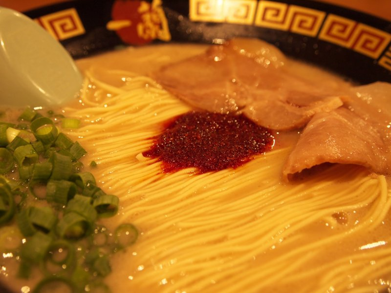 <p>Ichiran&#39;s delicious tonkotsu ramen.</p>