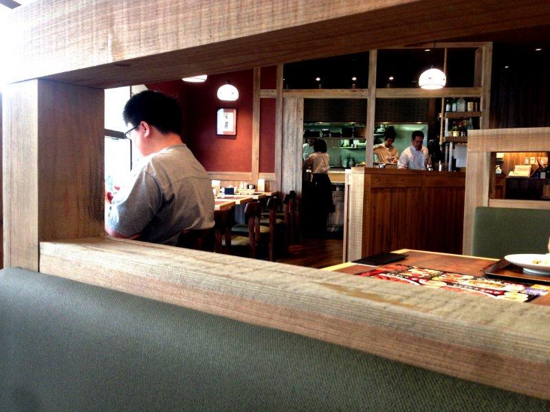<p>Morinoya is set in a modern kitchen.</p>
