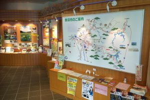 Maps and leaflets provide inspiration and guidance