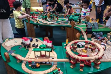 Surga Bernama Hakuhinkan Toy Park
