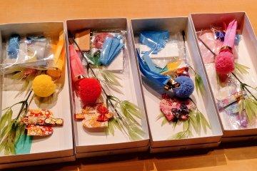 Mini Tanabata decoration making experience