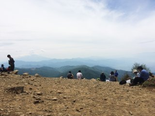 Mt. Daibosatsu is a hiking area in Yamanashi Prefecture.