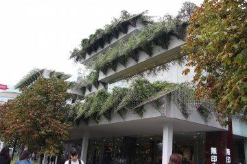 <p>Здание Tamagawa Takashimaya снаружи</p>