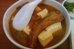 祐天寺 もつ焼き屋 ばん とんび豆腐