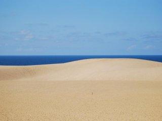 Daerah di mana langit, lautan, dan bukit pasir...