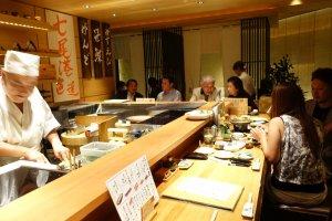 Le restaurant Chohachi