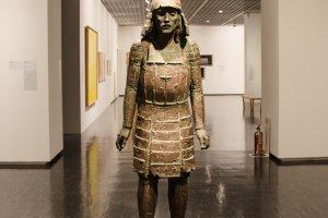 Patung replika sejarah Era Edo