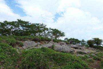 Reaching the top of Mt. Maruyama