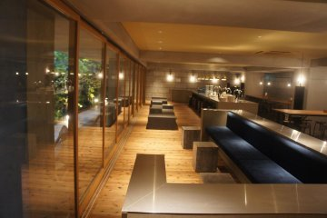 <p>One of the luxury hostel concept designs showcasing a modern and classy interior. This is the common room and your breakfast place.</p>