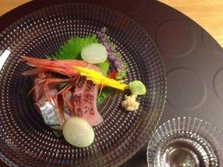 Sashimi (ikan mentah)