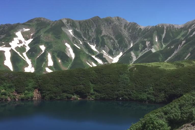 Le Mont Tateyama