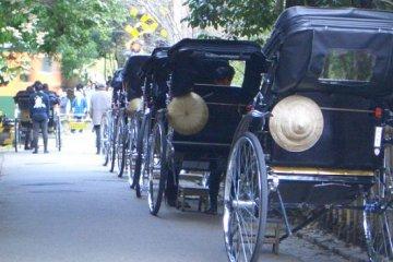 <p>Arishiyama Rickshaws</p>