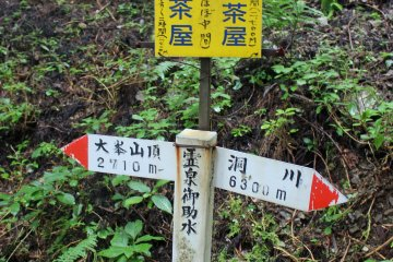 <p>The signage is almost exclusively in Japanese</p>