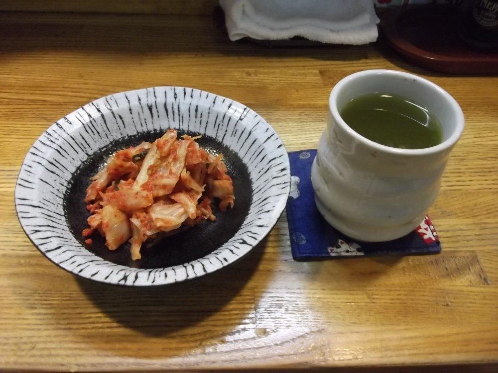 Кимчи и чай