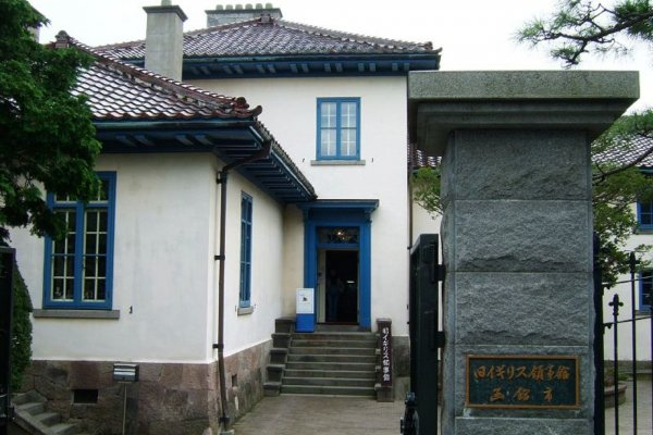 The British Consulate from 1859 to 1934 in Hakodate was designed by the Shanghai Construction Bureau of England.