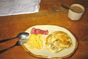The pancake breakfast