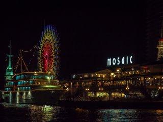 Cảng Kobe, cửa hàng, nhà hàng và hoạt động giải trí