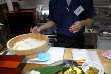 <p>Assembling the nigiri is the hardest to get right.&nbsp;</p>
